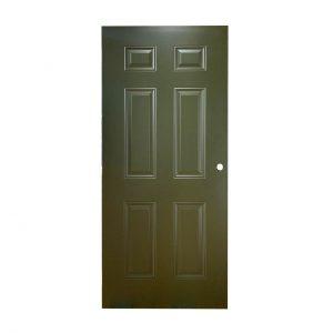 6 Panel Door – 32″ x 80″ Bronze