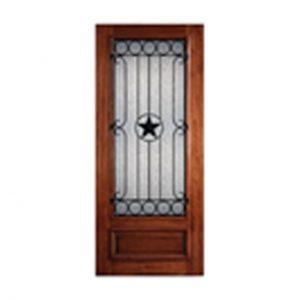 Wrought Iron Texas Door – 36″ x 96″